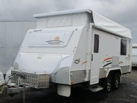 2012 18FT JAYCO DISCOVERY OUTBACK FAMILY VAN